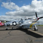 The &quot;Betty Jane&quot; a World War II era North American TP-15C Mustang.