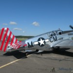 The &quot;Betty Jane&quot; a World War II era North American TP-15C Mustang taxiing out.